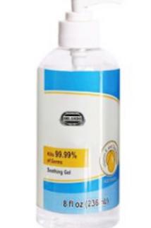 8oz Hand Sanitizer - Box of 50