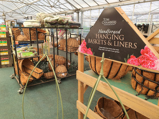 Hanging Baskets and Liners Out Now!