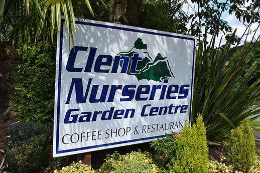 Garden centre entrance