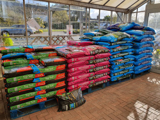 We've got all the compost & feed you'll need!