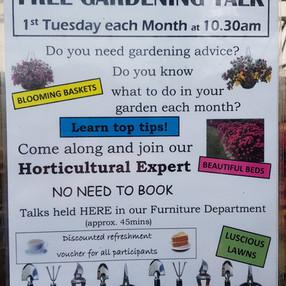 Gardening Talks