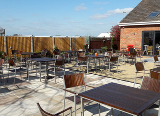 Outdoor Seating Area Now Open!