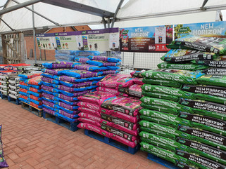 Large range of compost, soil, sand & stones now available!