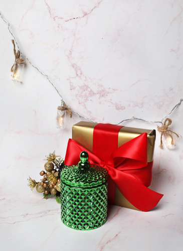 Luscent Candles Christmas Product photoshoot