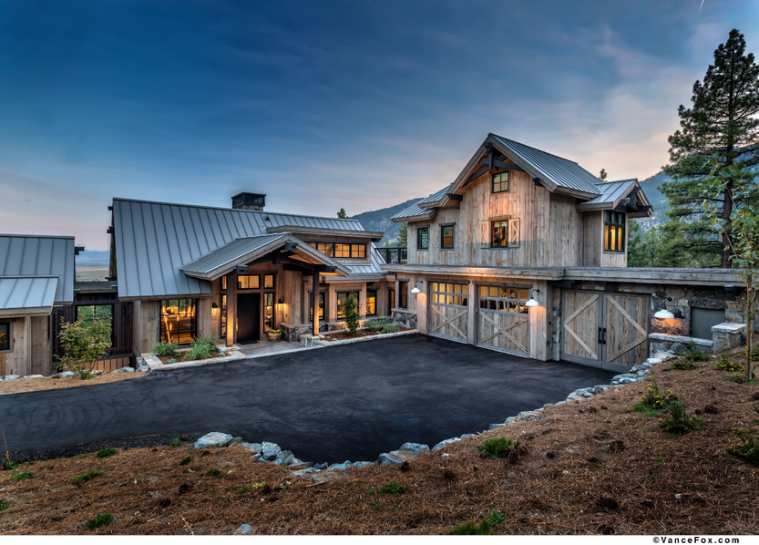 Godfather of All Farmhouses, Exterior entrance, Clear Creek Tahoe