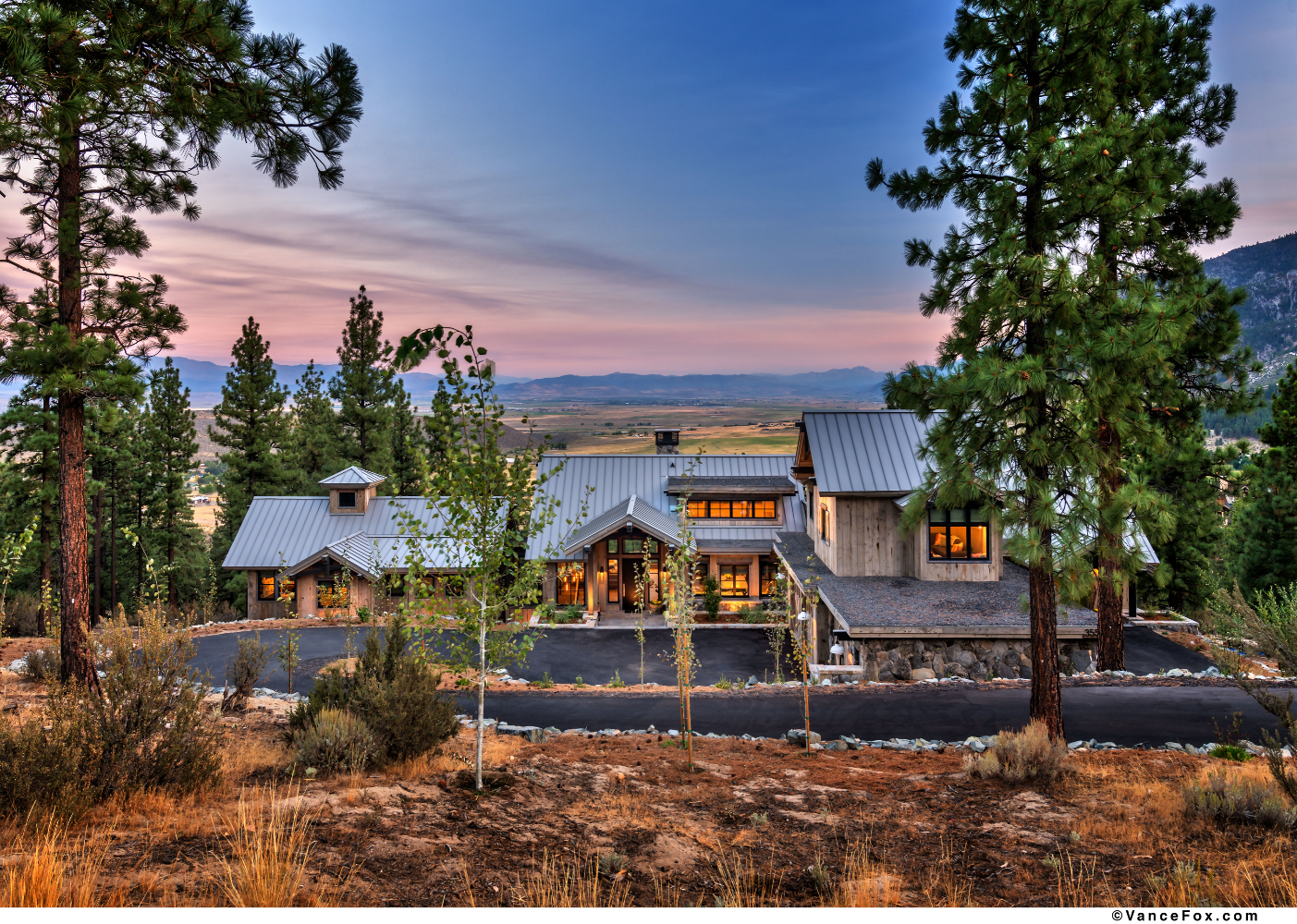 Godfather of All Farmhouses, Exterior, Clear Creek Tahoe