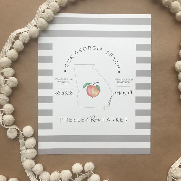 Our Georgia Peach