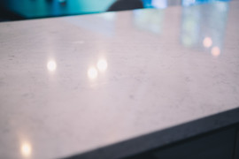 Quartz Counter Detail