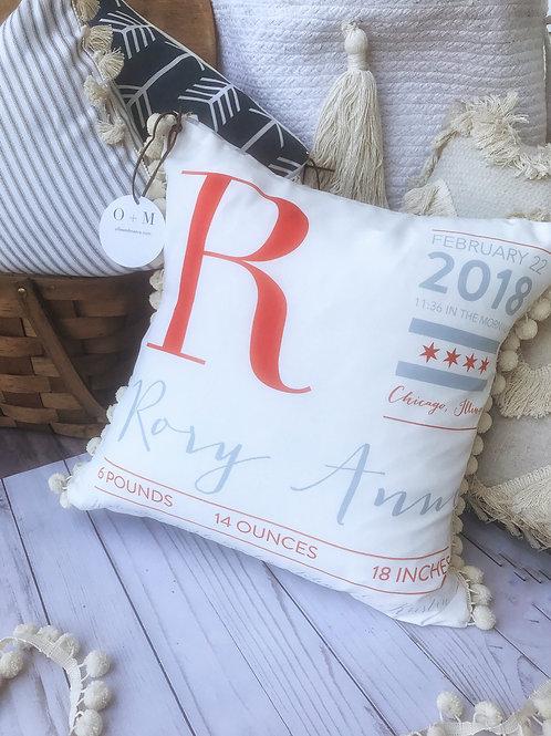 Semi Custom Baby Pillows