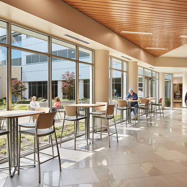 Connection to Existing Hospital Cafeteria