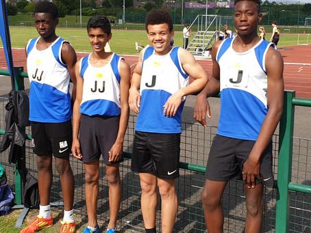 SJAC Set New Wessex League Record