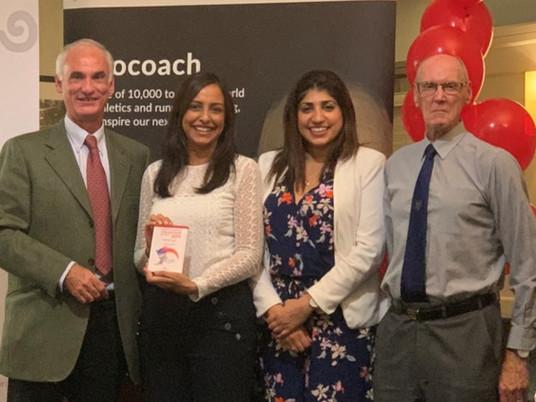 Slough Junior AC wins England Athletics Inclusion Award