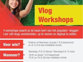 Workshop vloggen: wie wordt de Vlogger van Meerhoven?!?