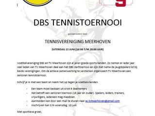 DBS TENNISTOERNOOI