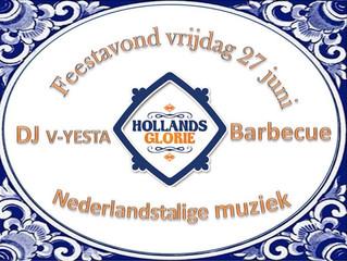 Hollands Glorie, thema feestavond Brouwers Reclame Open