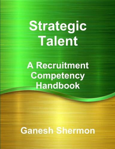Strategic Talent - By Ganesh Shermon