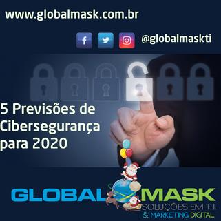 Cinco previsões de cibersegurança para 2020, segundo a Forcepoint