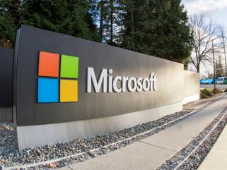 Lucro trimestral da Microsoft tem alta de 34%
