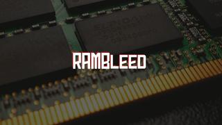 Ataque Rowhammer 'RAMBleed' agora pode roubar dados, não apenas alterá-lo