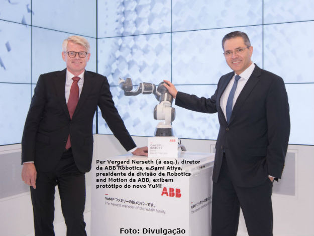 ABB desenvolve novo ROBÔ   Notícias de TI   Globalmask Soluções em TI
