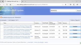 Atualização KB4462933 para o Windows 10 v1803 traz correções para múltiplos bugs