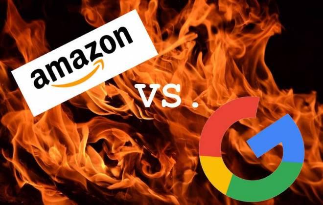 Em guerra GOOGLE e Amazon   Globalmask   Notícias de TI