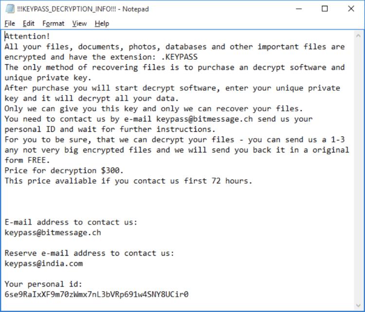 ransomware | Notícias de TI | GLOBALMASK