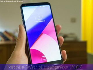 Hands on LG G6: um telefone bonito, mas não especialmente inovador