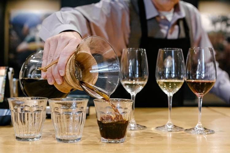 Coffee & Wine Tasting