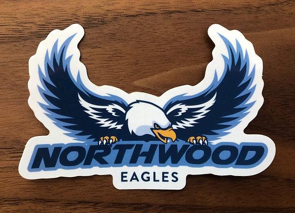 Northwood Eagle Sticker
