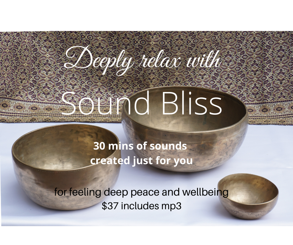 Sound Bliss, deep peace & wellbeing