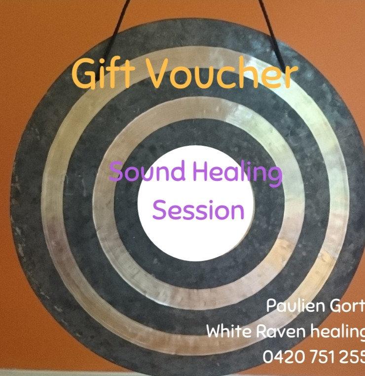 Gift Voucher Sound Healing session