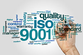 ISO 9001 word cloud concept on grey background.jpg