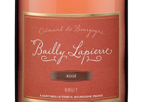 AOP Crémant de Bourgogne Rosé - Bailly Lapierre