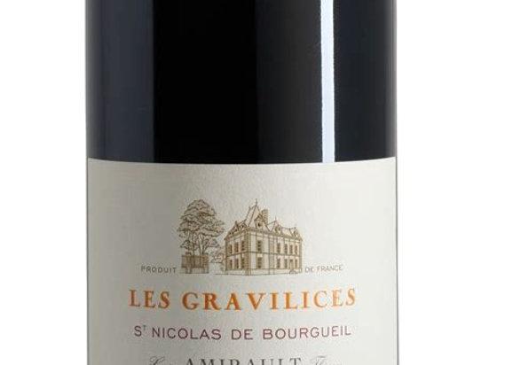 AOP St Nicolas de Bourgueil Les Gravilices