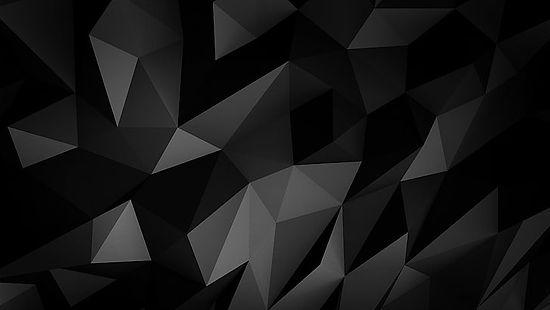 black-low-poly-monochrome-pattern-wallpa