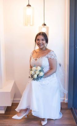 Bridal Makeup and Hair sitting.