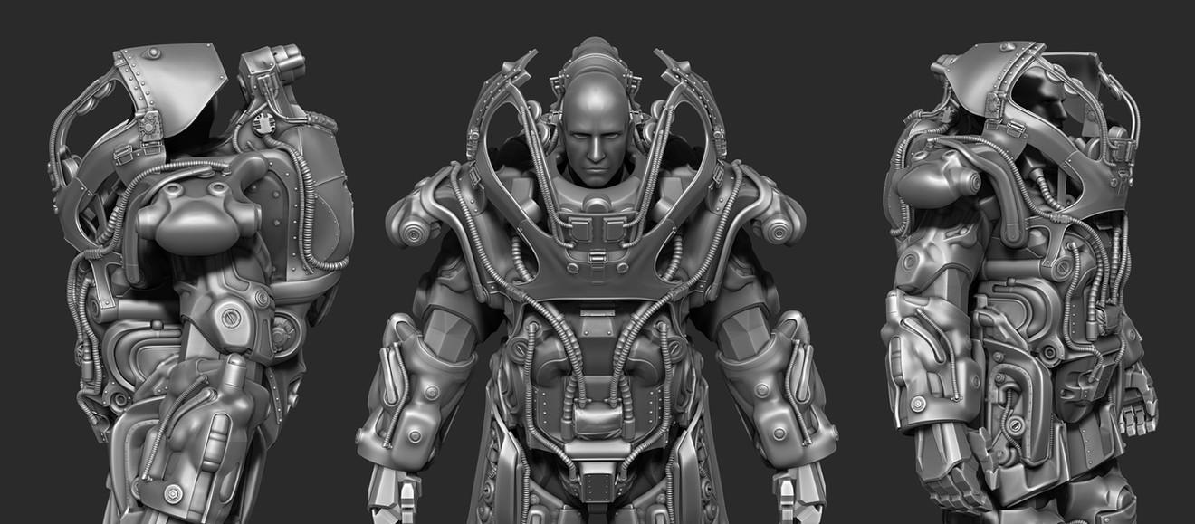 Fallout 76: H.A.R.E. power armor