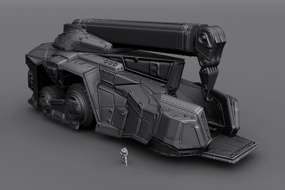 Gears of War 3: Crane