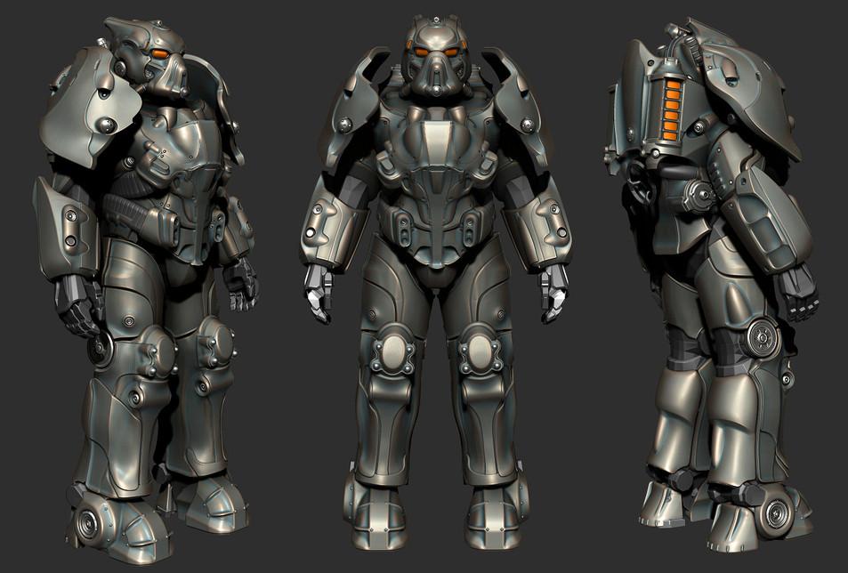 Fallout 76: Enclave power armor
