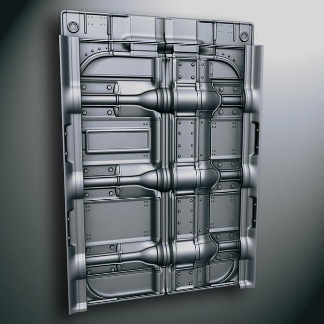 Vault-Tec elevator doors