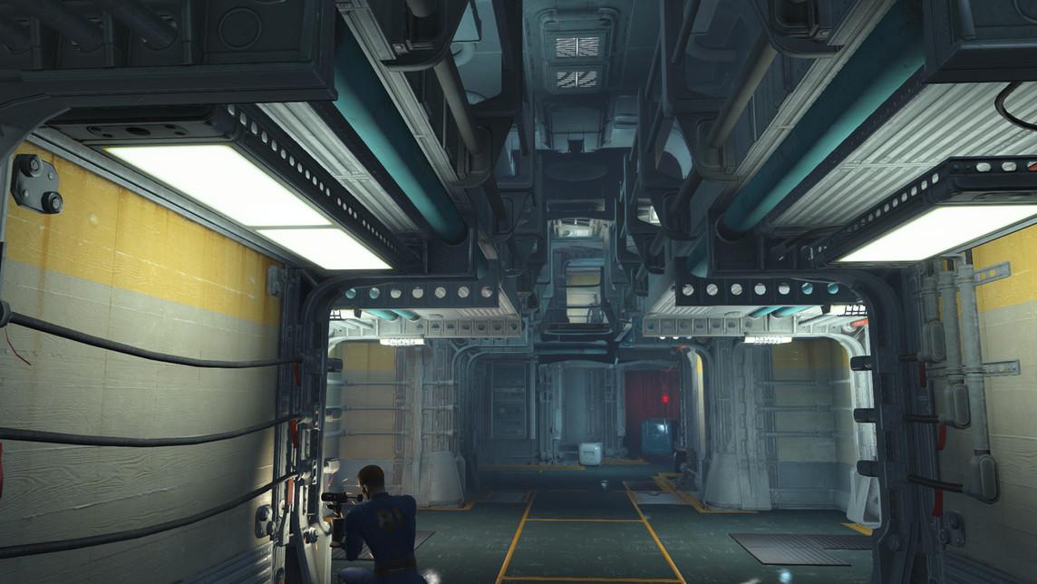 Fallout 4 Vault interior