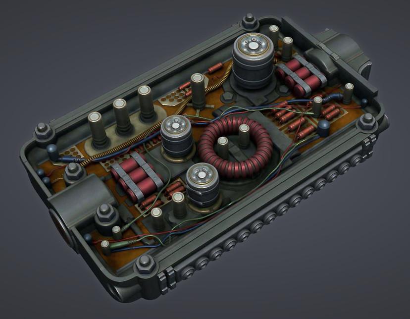 Fallout 4: Military Circuitboard