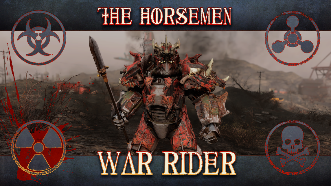 Fallout 76: War Rider