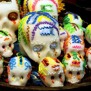 11/1 - Coloring Sugar Skulls