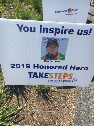 Ben Farnham 2019 Honored Hero