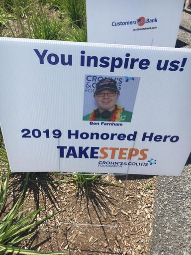 Ben Farnham 2019 Honored Hero
