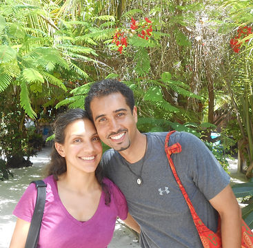 Photo Anim and Sarita outdoors copy.jpg
