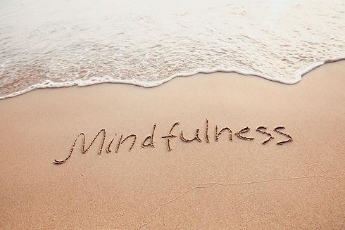 mindfulness concept, mindful living, tex
