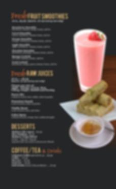 La Pita Smoothies Desserts